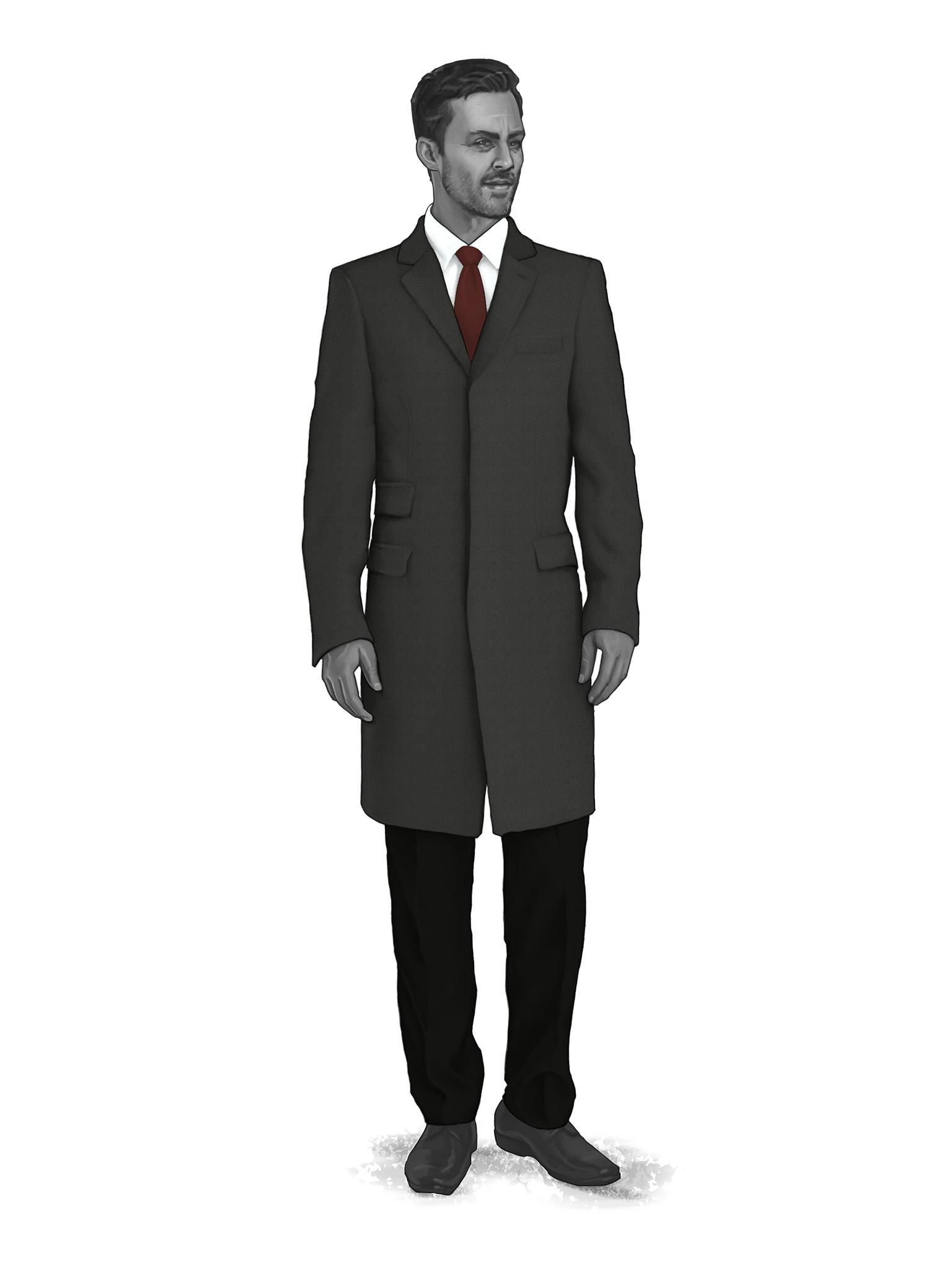 Classic Overcoats & Topcoats 986007