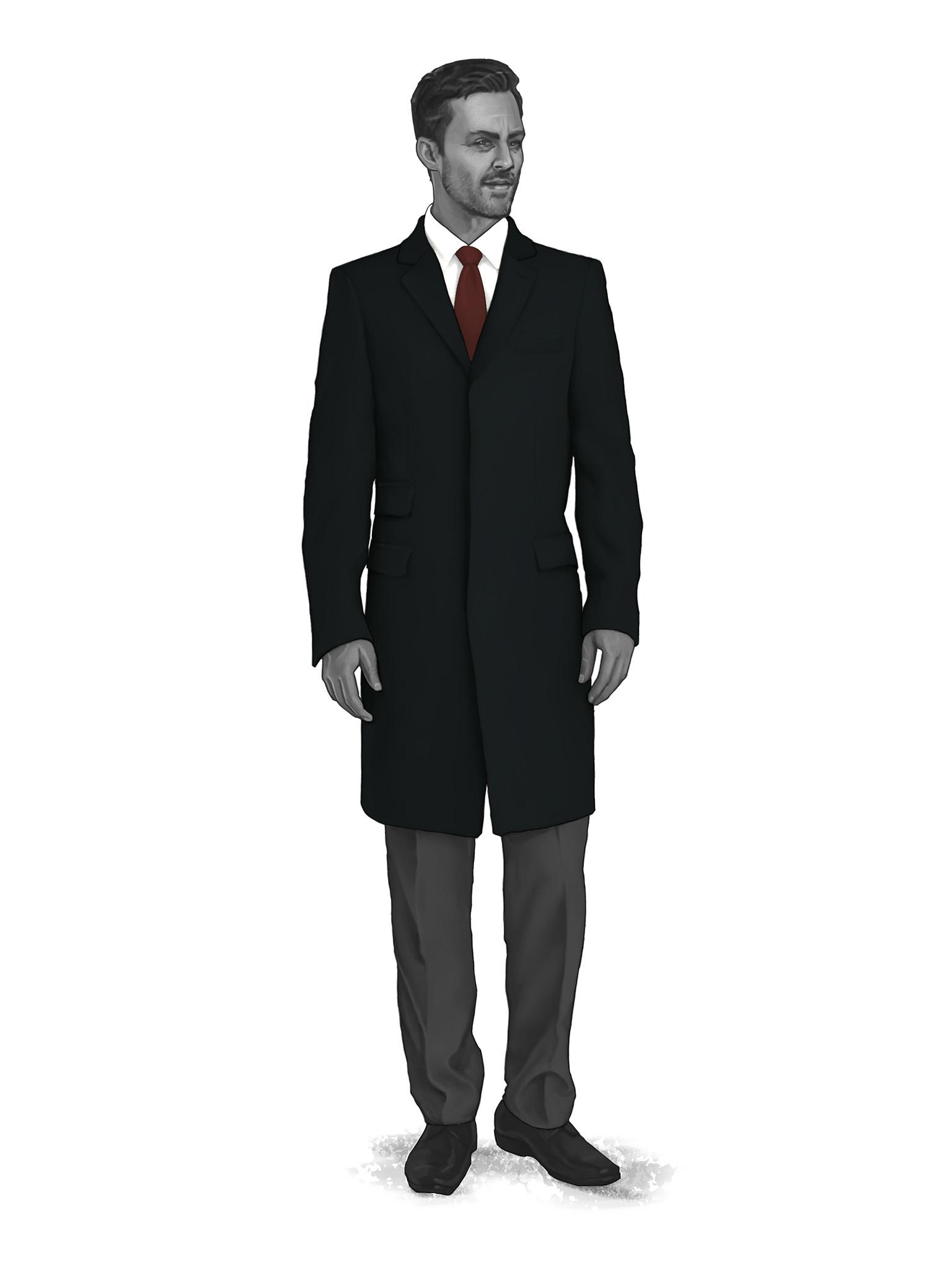 Classic Overcoats & Topcoats 986005