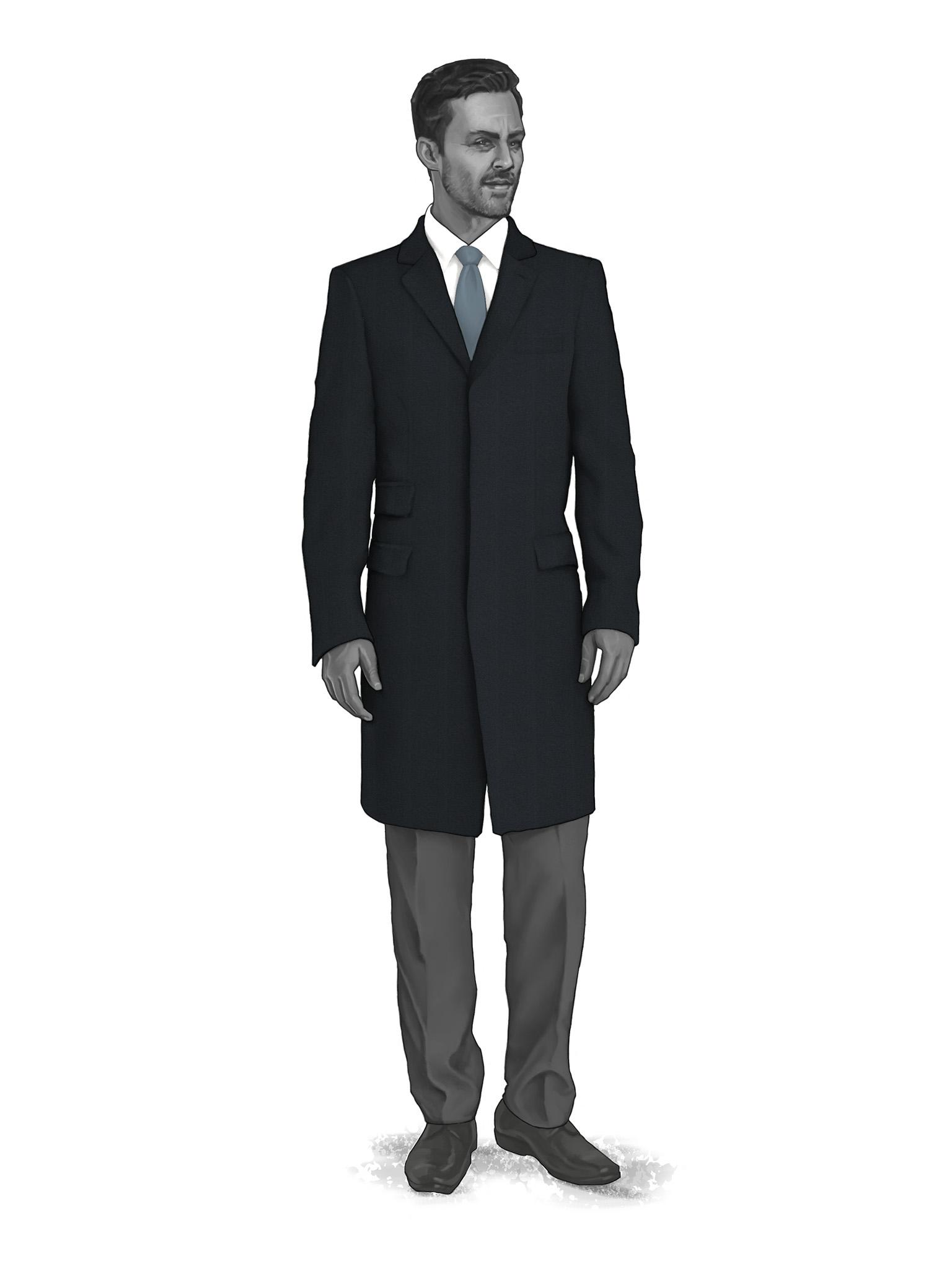 Classic Overcoats & Topcoats 986021