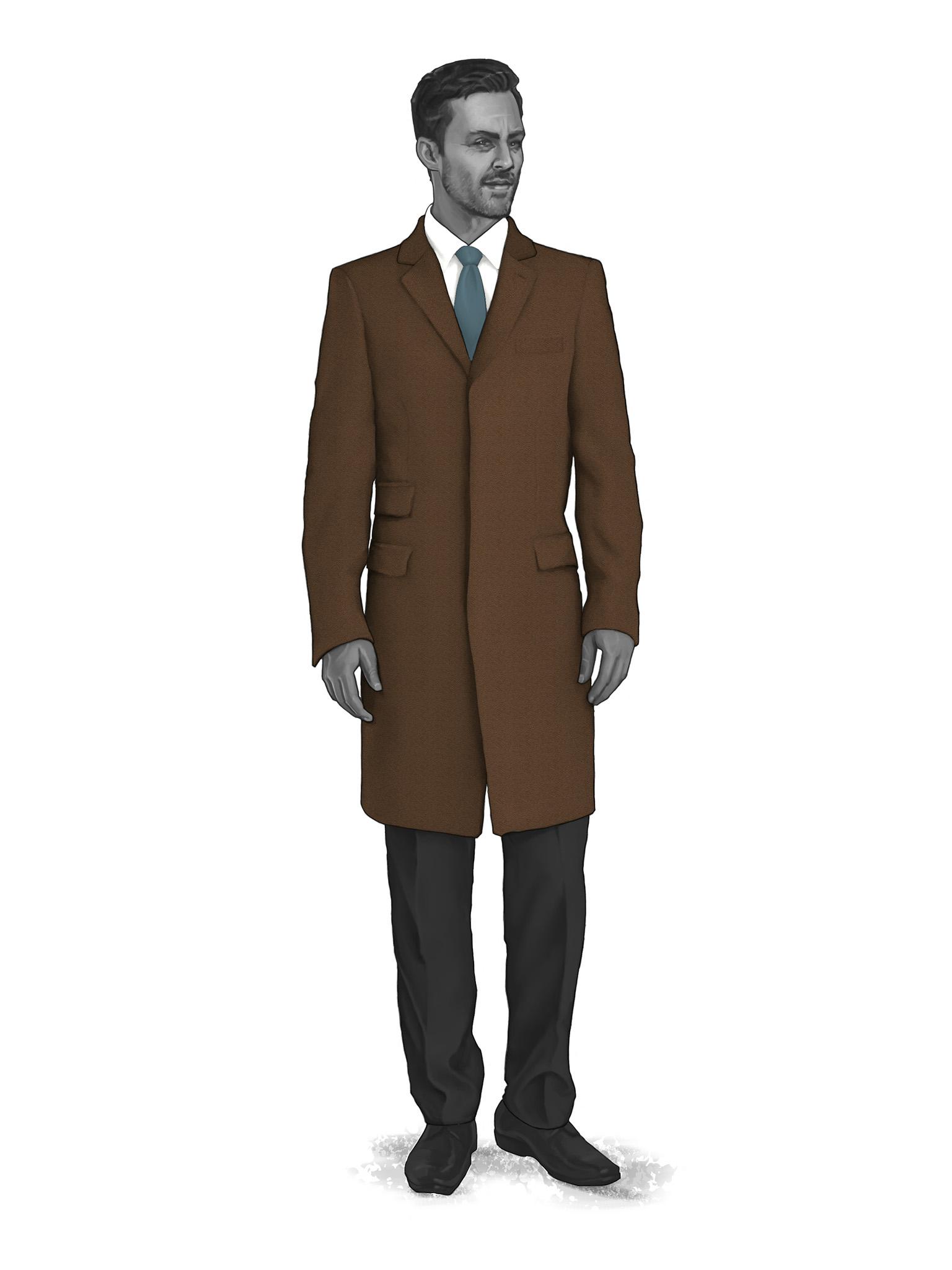Classic Overcoats & Topcoats 986003