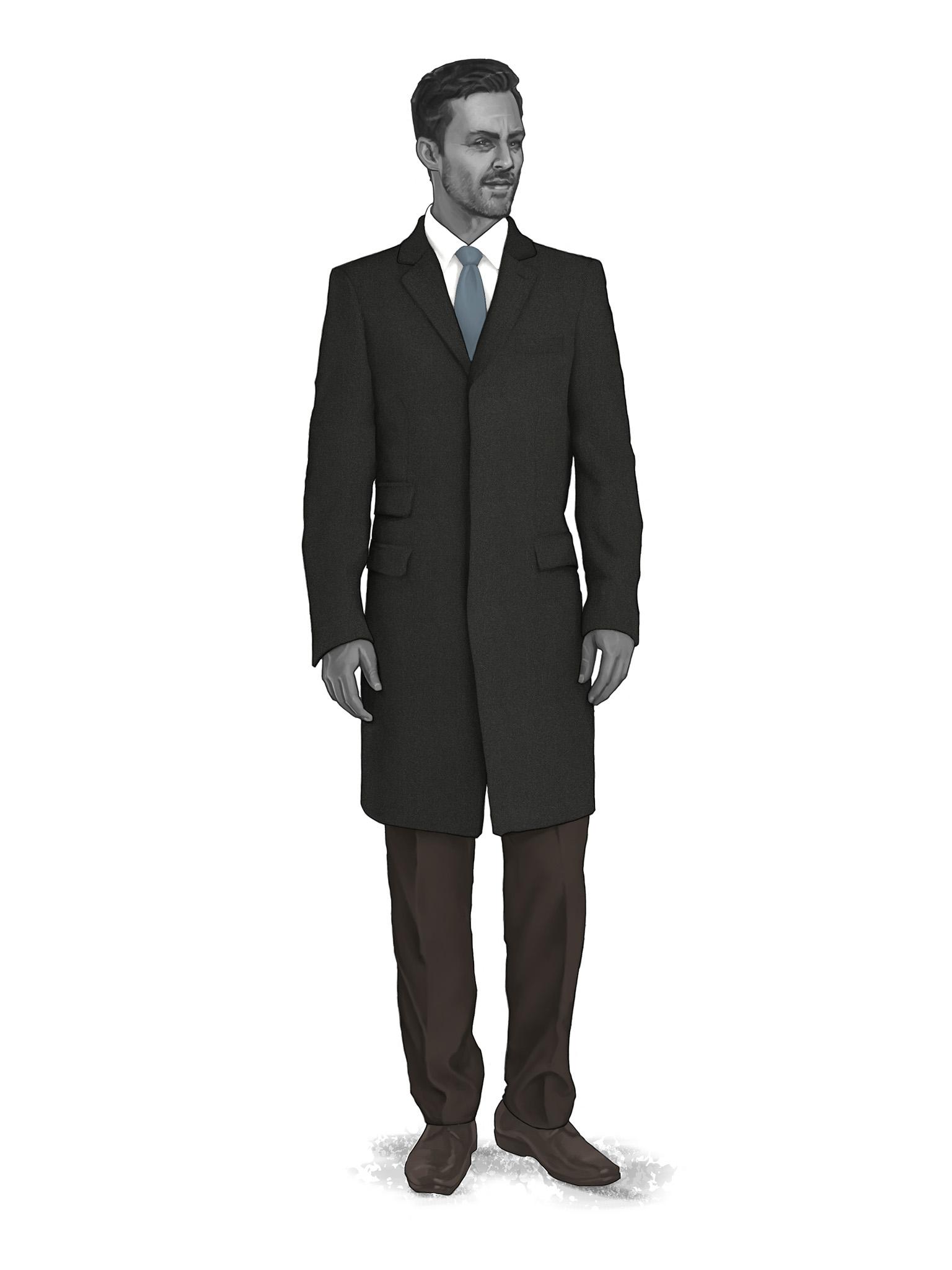 Classic Overcoats & Topcoats 986017