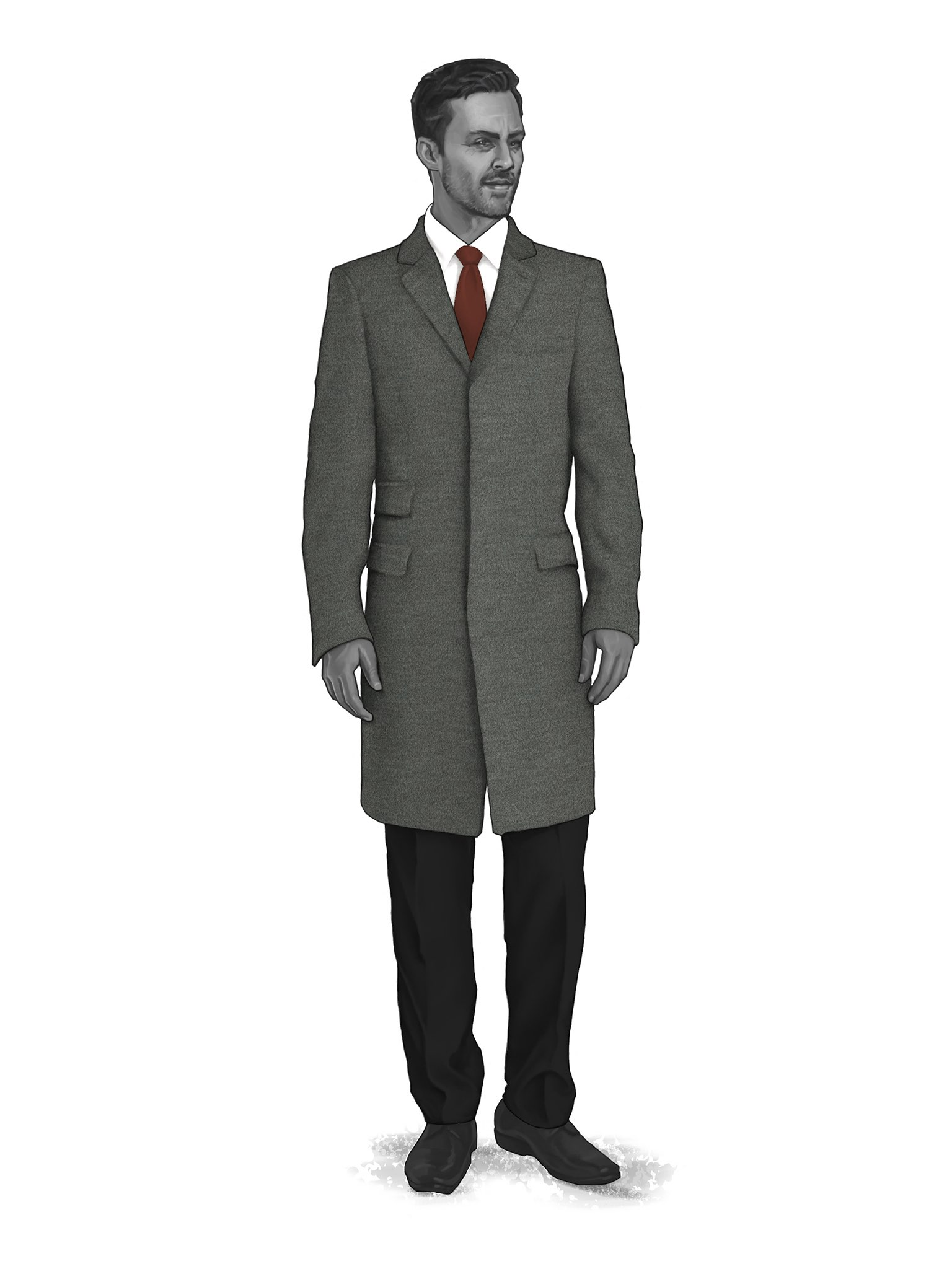 CONTEMPORARY OVERCOATS 9819100