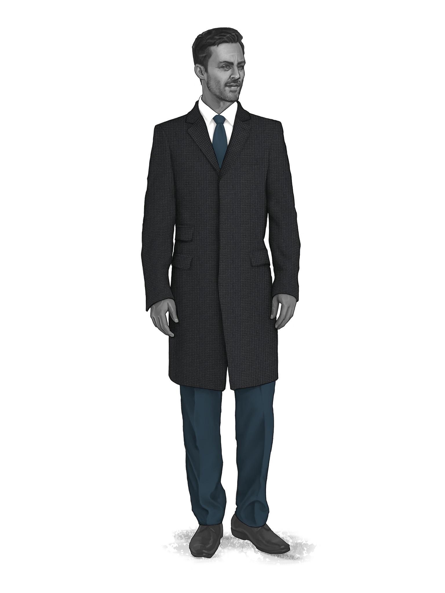 Classic Overcoats & Topcoats 986024
