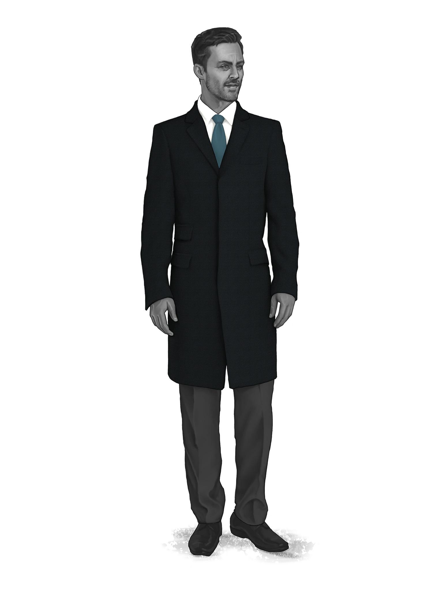 Classic Overcoats & Topcoats 986004