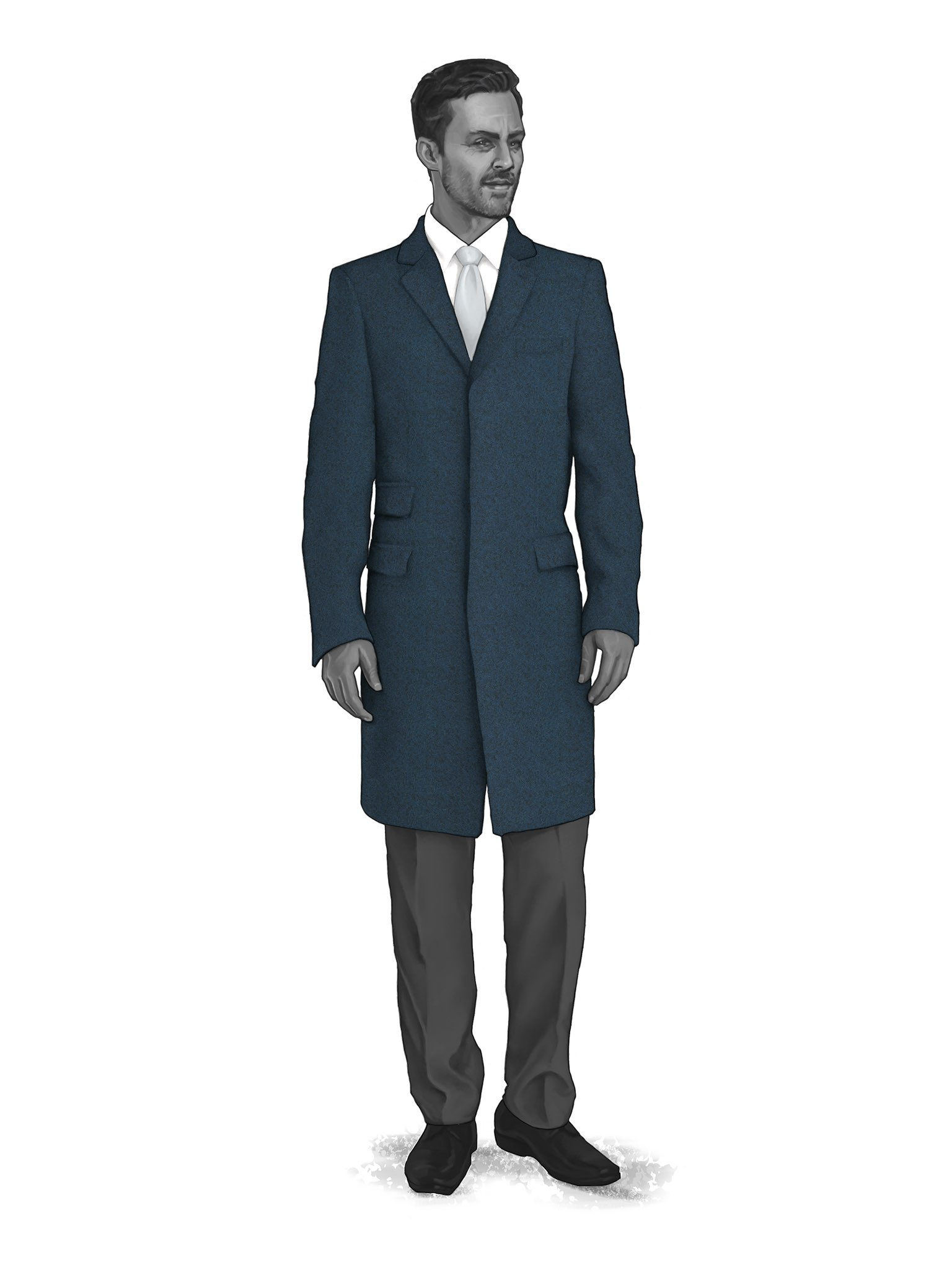 CONTEMPORARY OVERCOATS 9819004