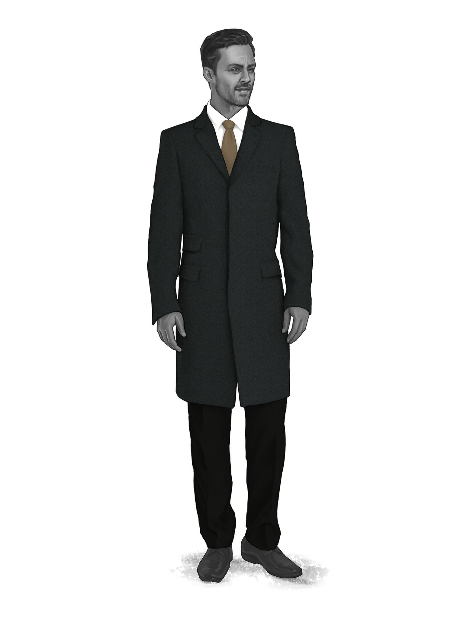 Classic Overcoats & Topcoats 986006