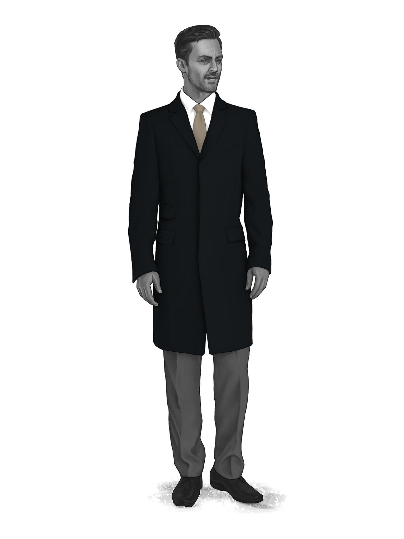 Classic Overcoats & Topcoats 986009