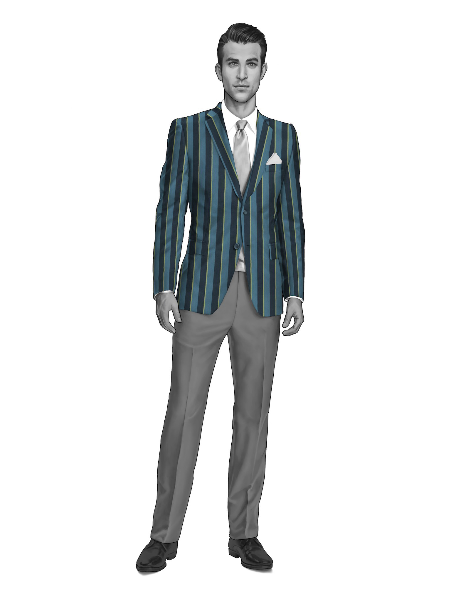 BLAZER STRIPES 1919002