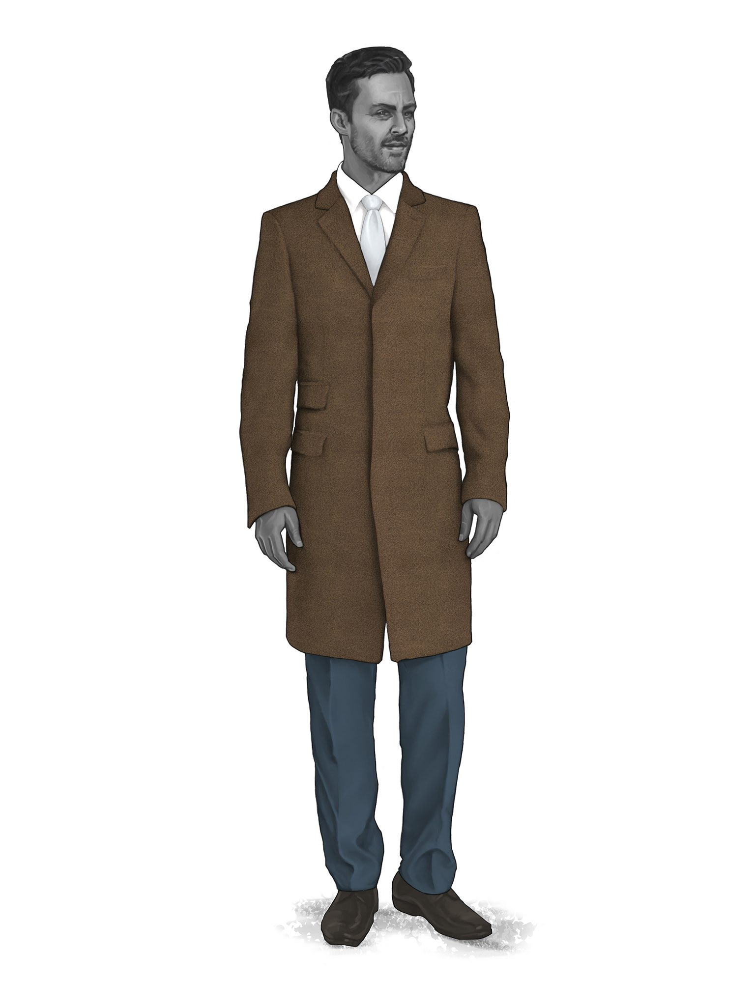 CONTEMPORARY OVERCOATS 9819103