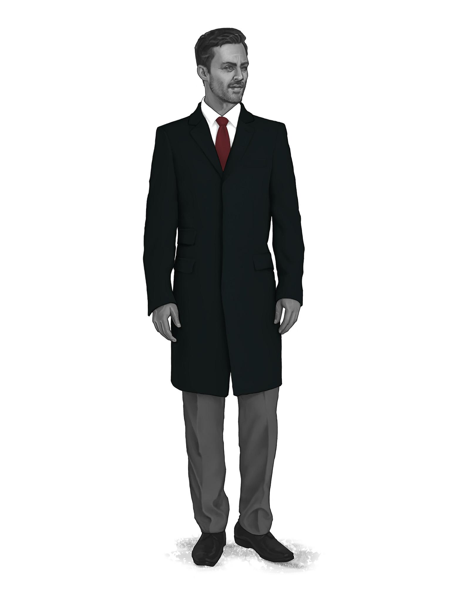 Classic Overcoats & Topcoats 986008