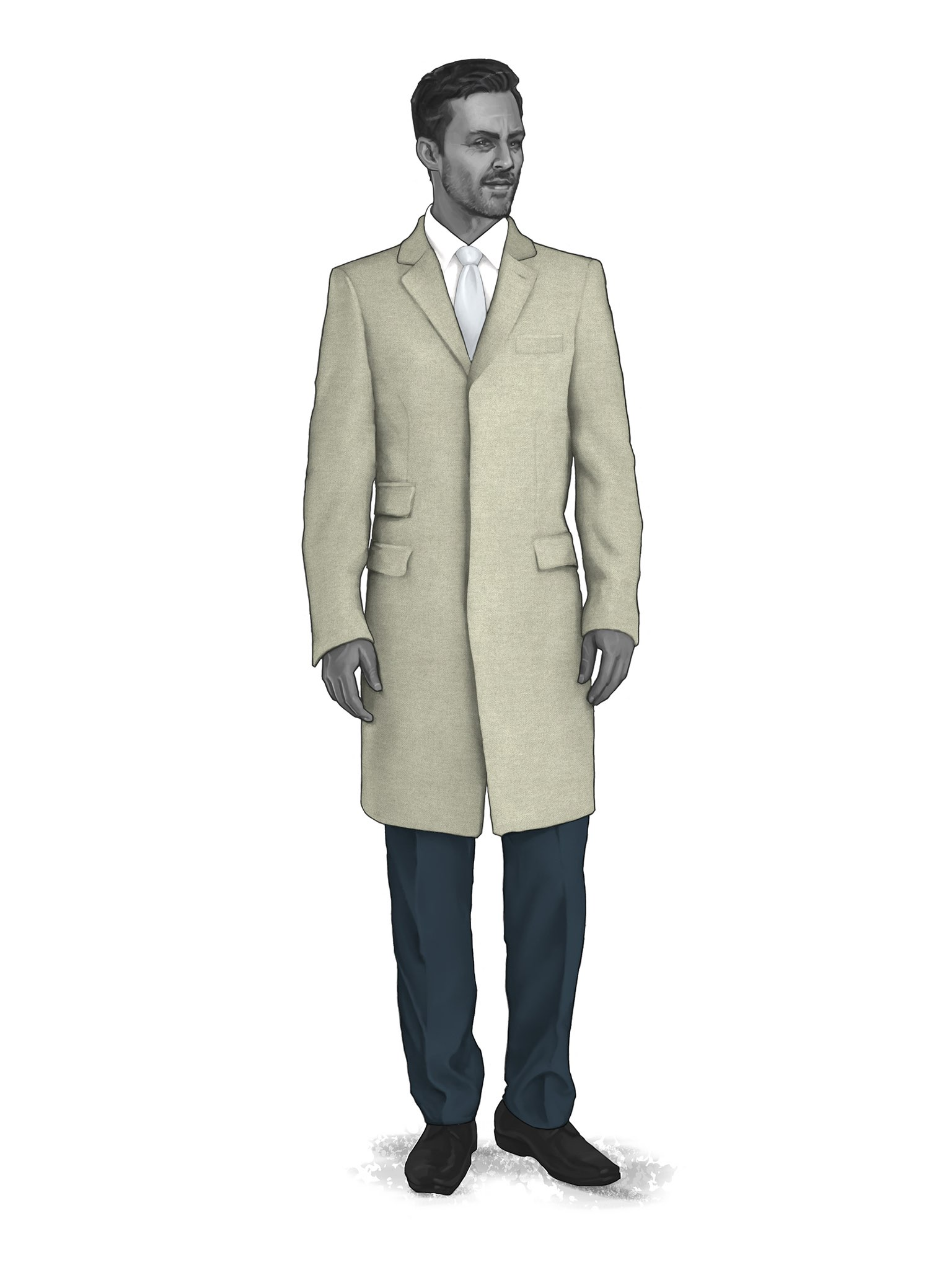 CONTEMPORARY OVERCOATS 9819401
