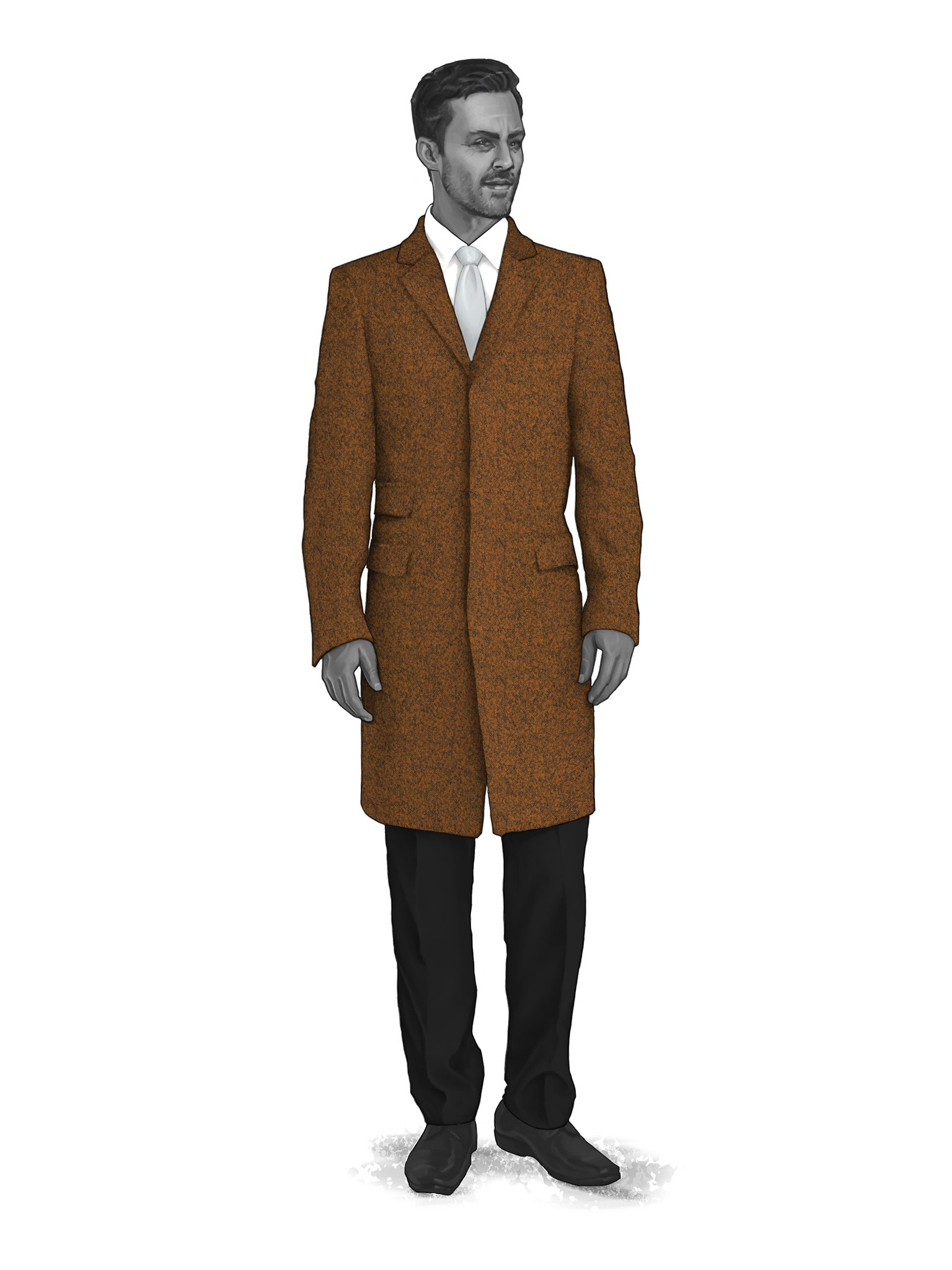 CONTEMPORARY OVERCOATS 9819008