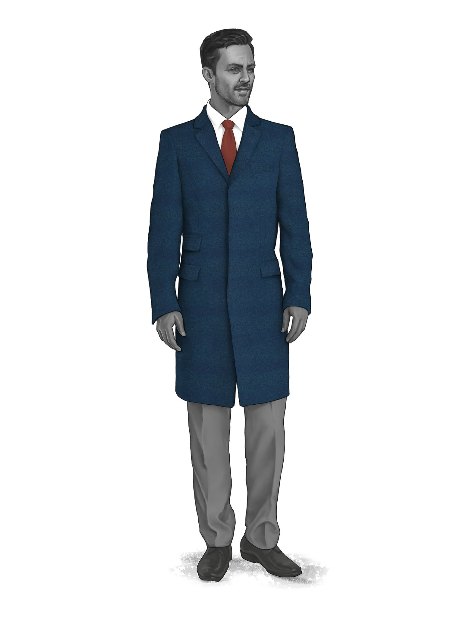 CONTEMPORARY OVERCOATS 9819102