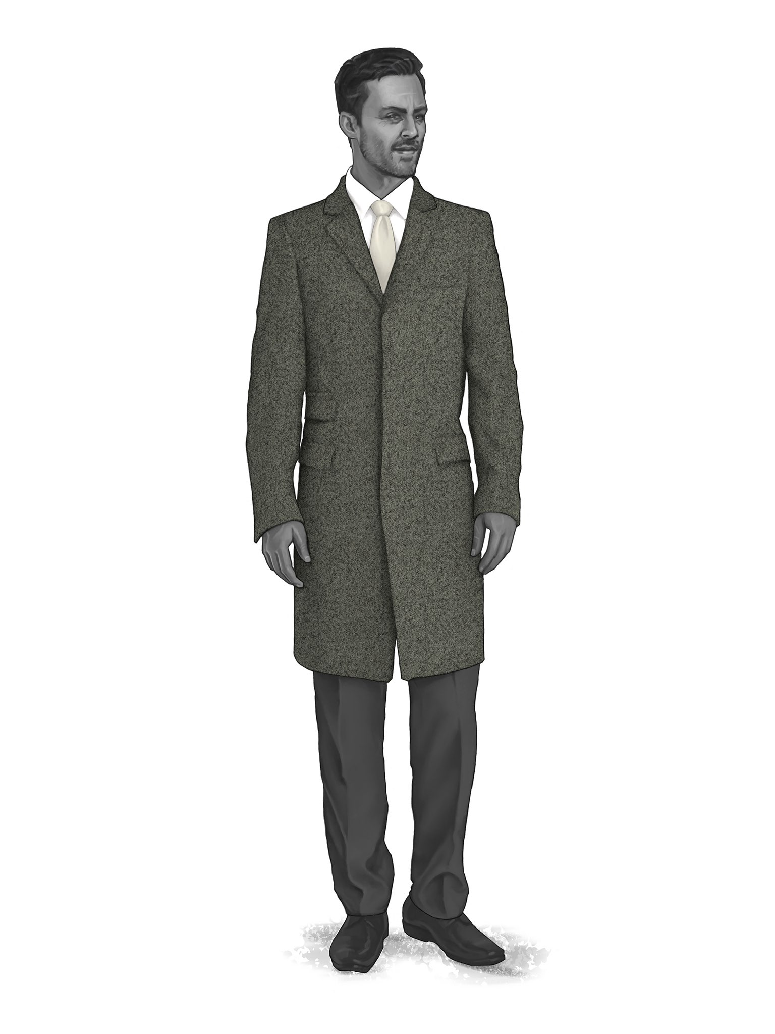 CONTEMPORARY OVERCOATS 9819001