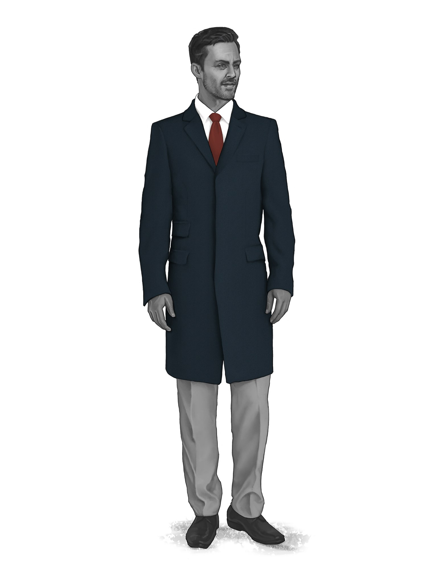 CONTEMPORARY OVERCOATS 9819303