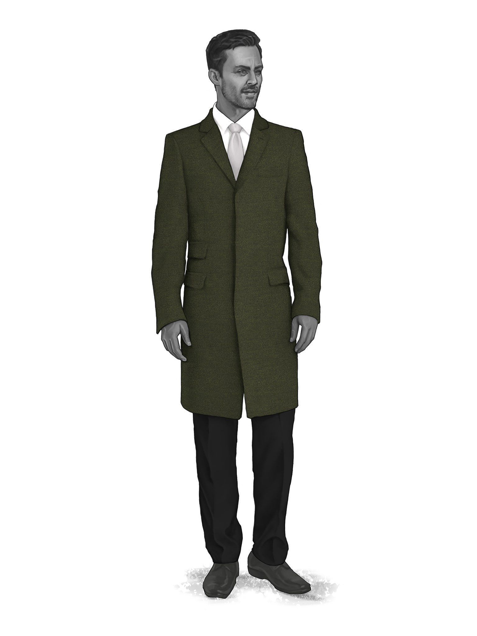 CONTEMPORARY OVERCOATS 9819104