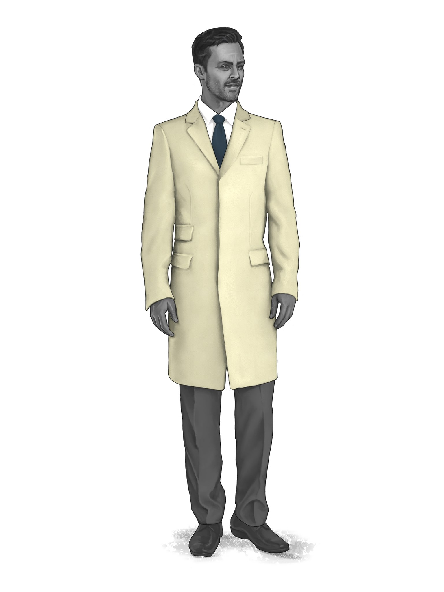 CONTEMPORARY OVERCOATS 9819400