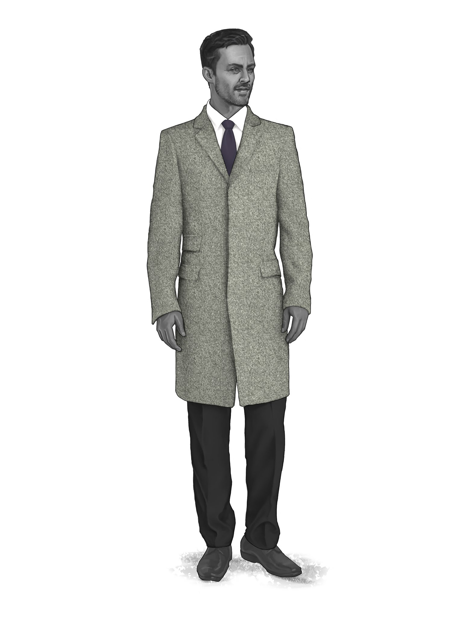 CONTEMPORARY OVERCOATS 9819000