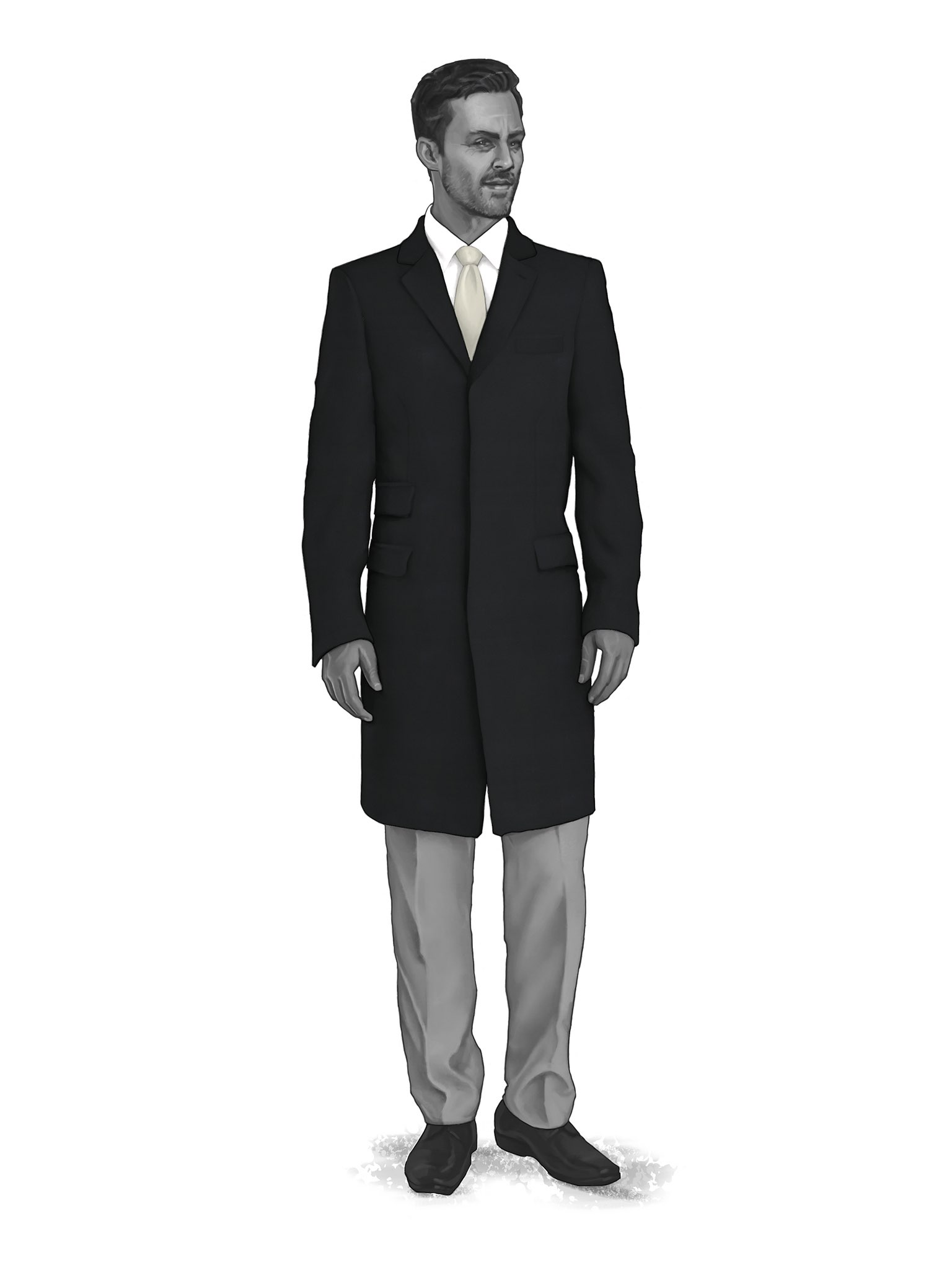 CONTEMPORARY OVERCOATS 9819402